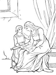 baby thumbelina colouring pages bible coloring