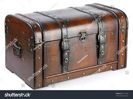 wooden trunk vintage wooden chest over white stock photo 94113943 shutterstock