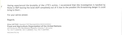 White Flag Incident Sri Lanka Un Corruption Files Un Knew Its Money Went To The Ltte But Hushed