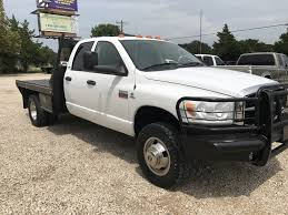 2012 dodge ram 5500 hd crewcab flatbed for sale in greenville tx