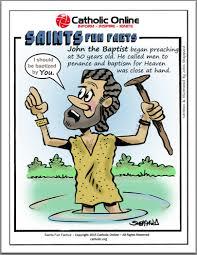 catholic shop online saints facts st the baptist saints catholic online