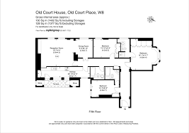 scale floor plan thackerays estate agents properties for sale