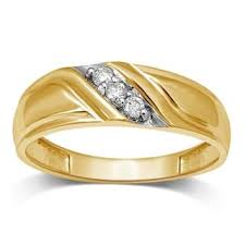 gold wedding band mens men s wedding bands groom wedding rings for less overstock