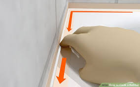 Length Of A Bathtub How To Caulk A Bathtub 10 Steps With Pictures Wikihow