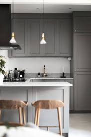 Small Kitchen Design Photos Best 25 Grey Kitchens Ideas On Pinterest Grey Cabinets Grey