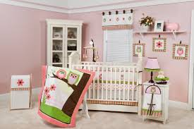 Owl Room Decor Modern Baby Girl Room Pink Wall Paint Chocolate Tree And Pink