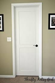 Flat Kitchen Cabinet Doors Makeover - interior door makeover projects diy interior interior door and
