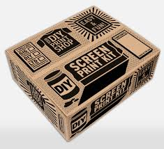 giveaway diy print shop screen printing kit design milk