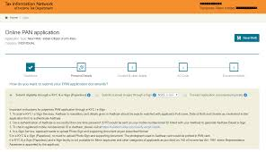 pan card how to apply online for pan card new application paisabazaar com