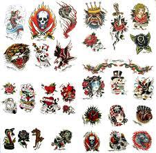 ed hardy genuine temporary tattoos d over 30 tattoos ebay