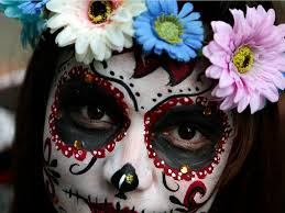 day of the dead zombie halloween mask photos of mexico u0027s breathtaking day of the dead festival