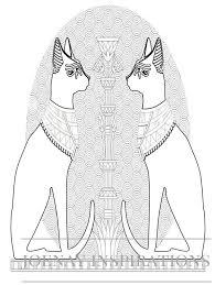 ancient egypt coloring page 109 best coloring pages to print egypt images on pinterest