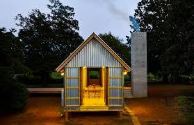550 sq ft breezeway dogtrot style zachary house by architect