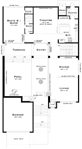 Contemporary Floor Plan by 658 Best House Plans Medium To Ginormous Images On Pinterest