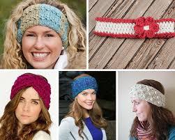 61 crochet headband patterns and accessories allfreecrochet