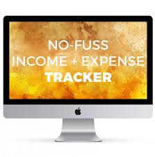 Imac Spreadsheet No Fuss Income Expense Tracker The Spreadsheet Alchemist