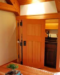 Fir Doors Interior Folding Douglas Fir Doors Collapse To Reveal A Mini Bar In The
