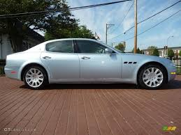 Light Blue Color by 2005 Argento Luna Light Blue Maserati Quattroporte 18173756