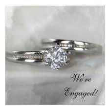 Engagement Ceremony Invitation Engagement Ring Invitations U0026 Announcements Zazzle Co Uk