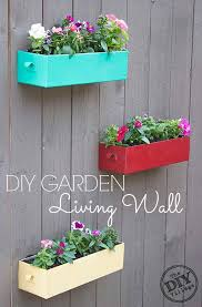Wall Plant Holders Best 25 Fence Planters Ideas On Pinterest Wooden Garden