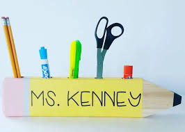 Personalized Desk Organizer by Thoughtful Teacher Gifts To Buy Or Diy For Back To School