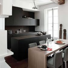 cuisine blanc laqué plan travail bois cuisine laquee collection et cuisine blanc laque plan travail