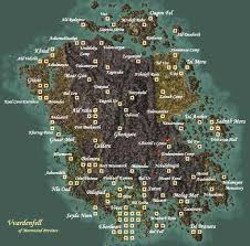 Fallout 2 World Map by The Guide To Open World Environment Design