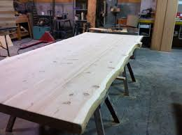 live edge table top live edge natural wood accents rouck bros log homes