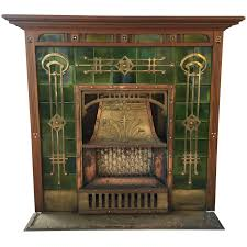breathtaking art deco fireplace circa 1920s art deco fireplace