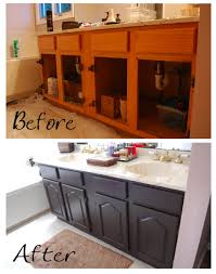 stylish design diy paint bathroom cabinets pretty distressed