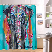 Colorful Fabric Shower Curtains Shower Curtain Picture More Detailed Picture About Custom