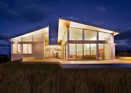 Architecture And Home Design Modern Solar Powered Beach House Design - Solar powered home designs