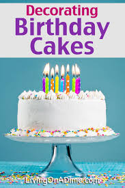 Cheap Cakes Decorating Birthday Cakes Easy And Simple Ideas