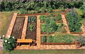 Ideal Vegetable Garden Layout Raised Bed Vegetable Garden Plans Outdoor Furniture Find Out