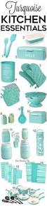 turquoise kitchen accessories turquoise polka dot kitchen