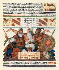 arthur szyk haggadah books become at swann galleries press illustrated