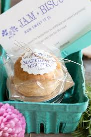 wedding favor friday jam biscuits weddings ideas from evermine