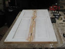 how to make bifold cabinet doors making a bi fold door from an existing wood door