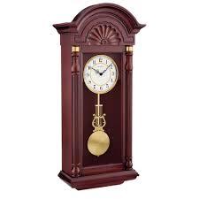 pendulum wall clock howard miller hermle bulova clockshops com