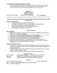 Sales And Marketing Resume Examples by Combination Resume Definition Format Layout 117 Examples