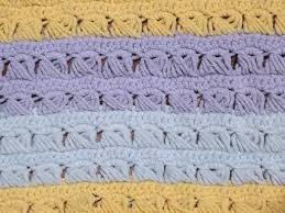 Lavender Throw Rugs Retro Vintage Crocheted Stripes Throw Rug Lavender Blue And Soft