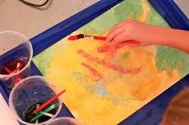 Color Painting by Domestic Charm Homemade Liquid Water Color Paint For Kids