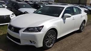 lexus es crafted line new white 2015 lexus gs 350 awd luxury package in depth review