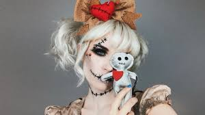 spirit halloween dress code voodoo doll halloween makeup tutorial ft spirit halloween