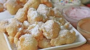 easy funnel cake bites recipe u0026 toppings divas can cook