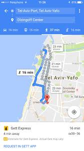 gett teams up with google maps israel21c