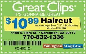 haircut specials at great clips great clips coupon by indoormedia