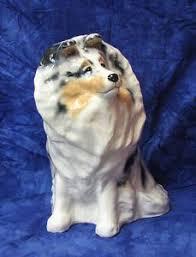 australian shepherd ebay blue merle shetland sheepdog sheltie dog plush canine christmas