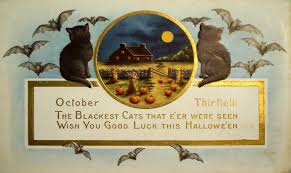 Old Halloween Poems Free Vintage Halloween I Halloween E Card