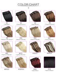 Blonde Hair Extensions Clip In by Aliexpress Com Buy Blonde Clip In Human Hair Extensions Color